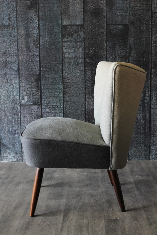 ombre cocktail chair grey taupe furniture. Black Bedroom Furniture Sets. Home Design Ideas