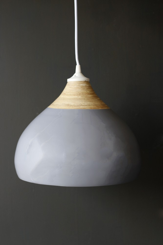 Glazed bamboo pendant lamp glazed bamboo pendant lamp hover to zoom aloadofball Image collections