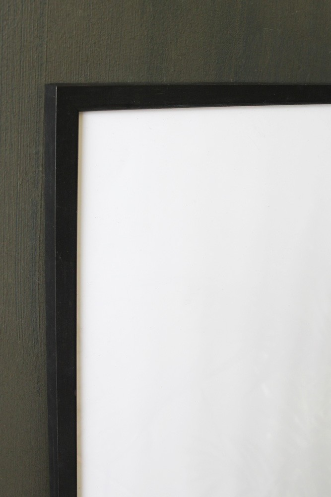 Large Black Wooden Frame 30cm X 40cm Picture Frames