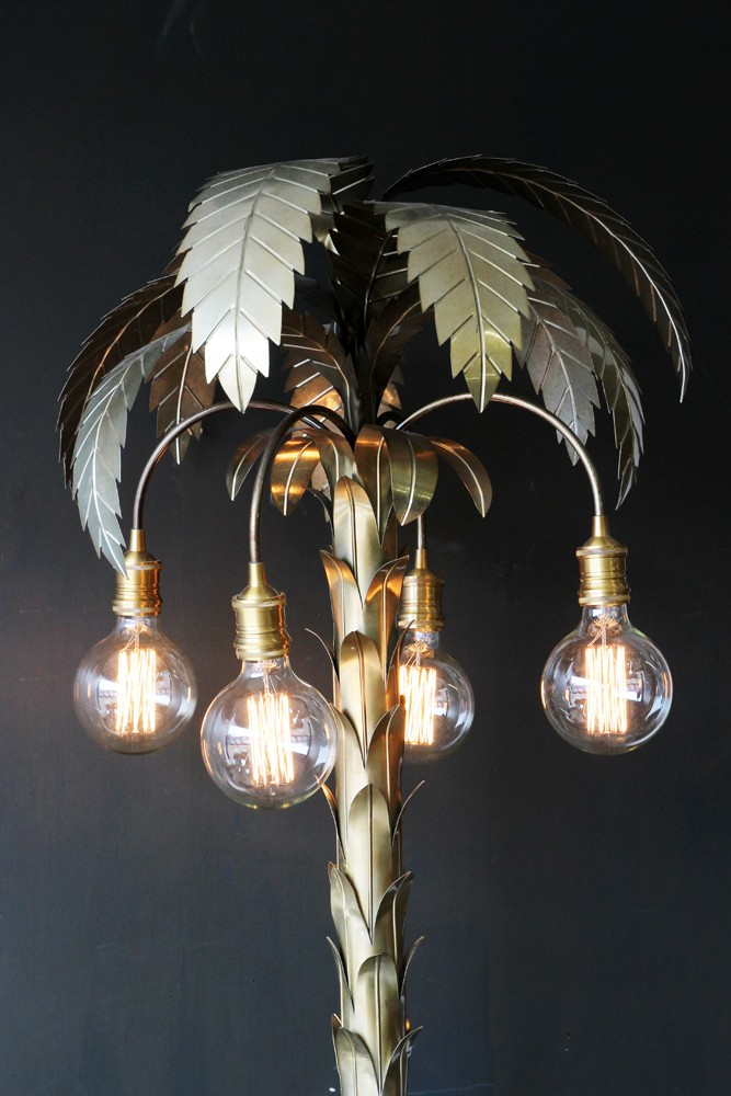 Palm tree floor light aloadofball