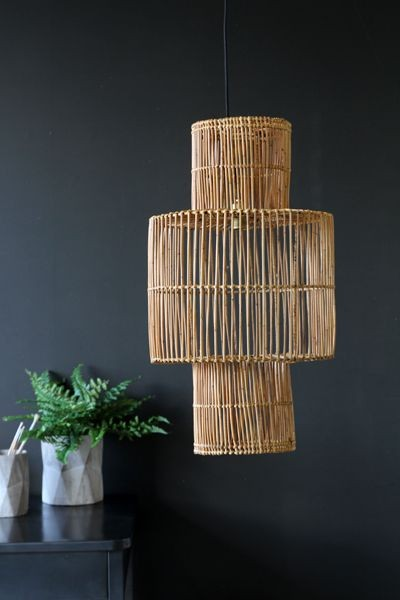 Rattan Lamp Shade Lighting