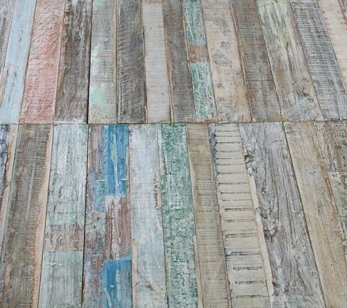 Reclaimed Wood Floor Tiles