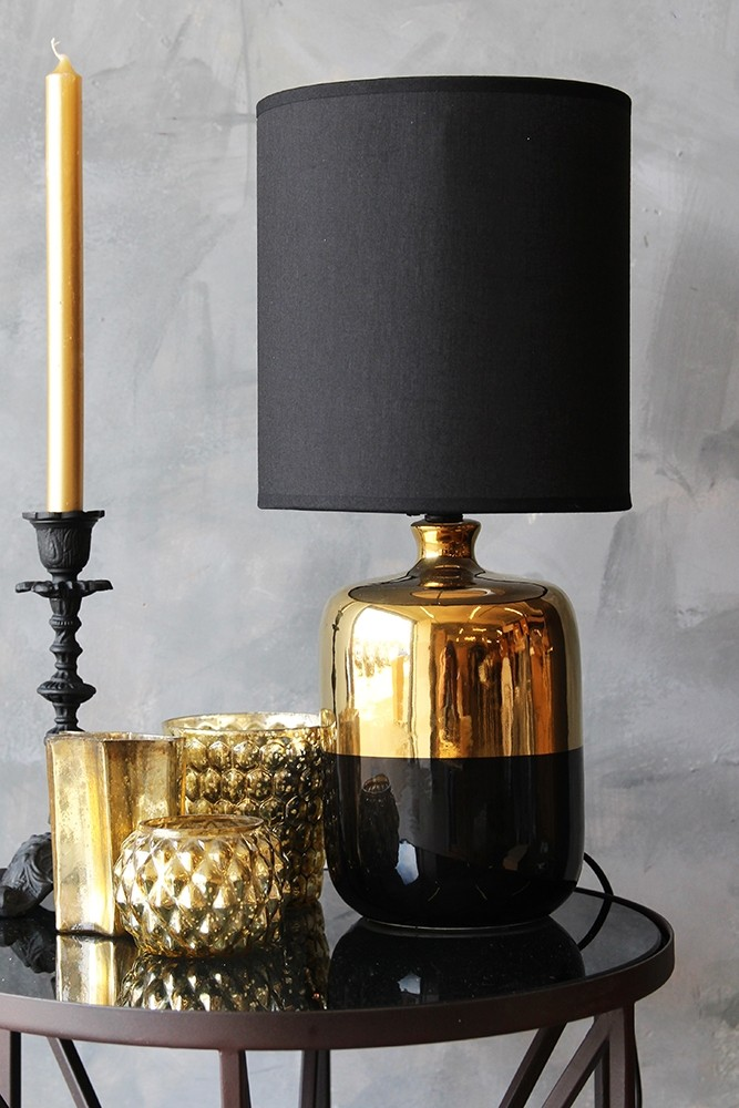 Black bronze table lamp from rockett st george black bronze table lamp aloadofball Gallery