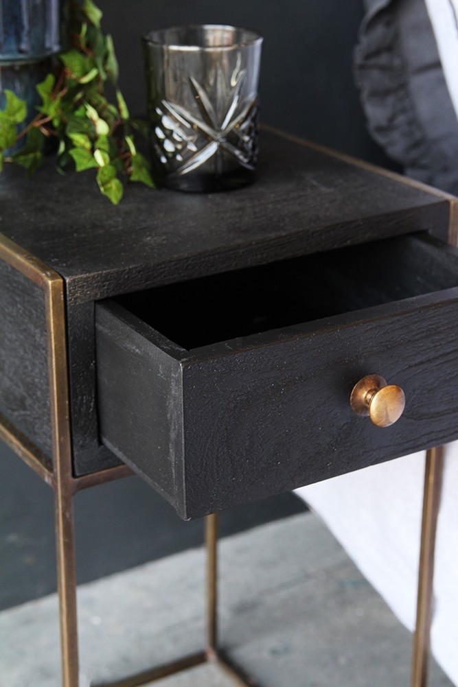 Halcyon Bedside Table With Drawer From Rockett St George