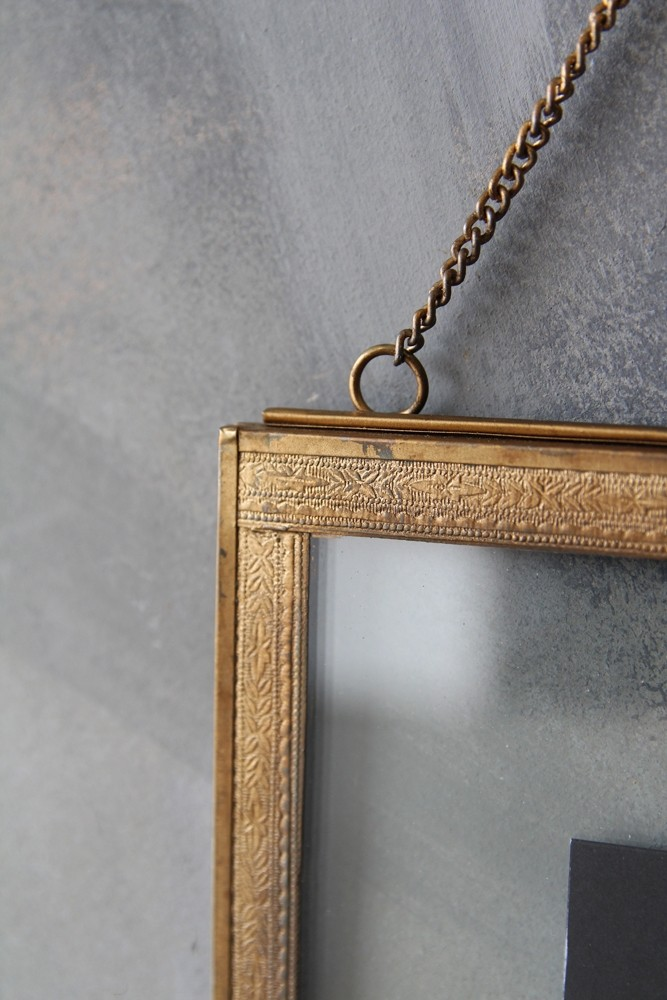 Wall Hung Brass Frame - Portrait or Landscape - 3 Sizes Available ...