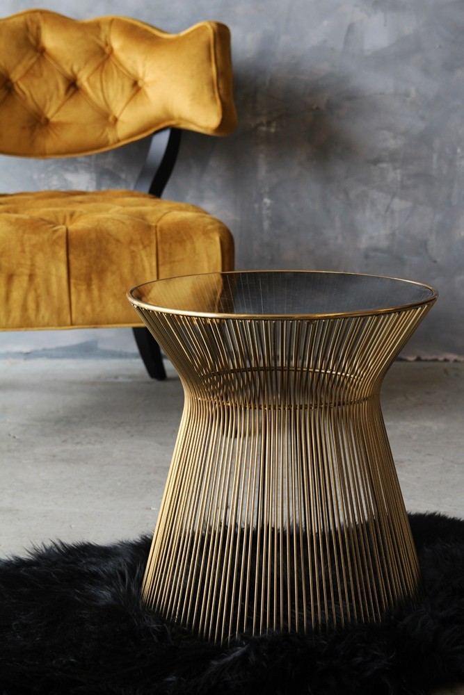 Hampstead Gold Side Table
