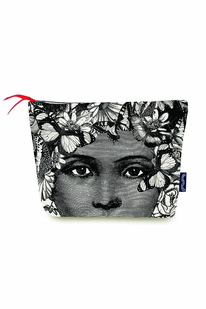 Butterfly Lady Wash Bag / Make-Up Bag from Rockett St George