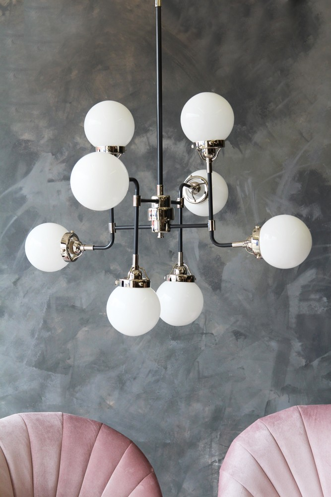eight orb ceiling pendant light hover to zoom