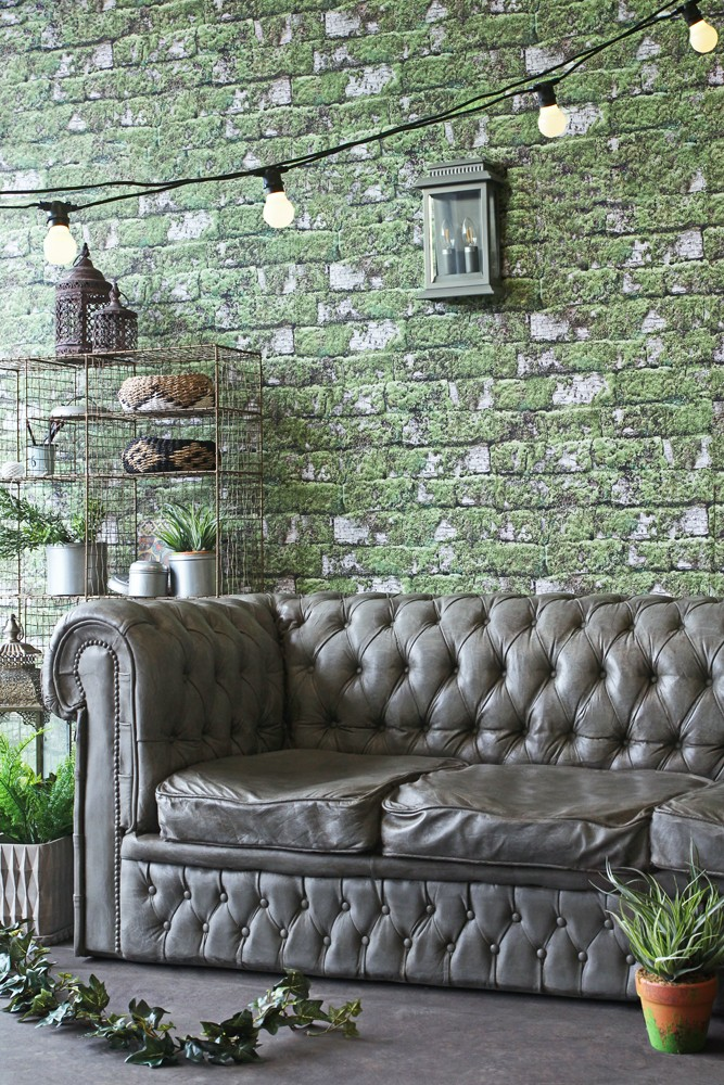 Exceptional Chesterfield Concrete Sofa
