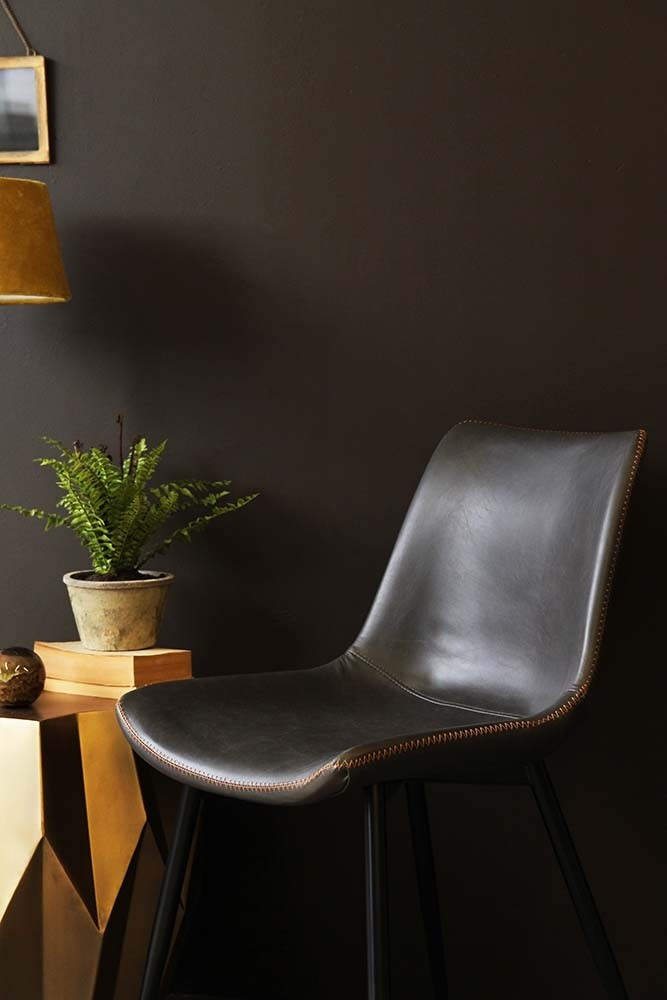 Morris faux leather dining chair cedar brown from rockett st george Morris home furniture hours