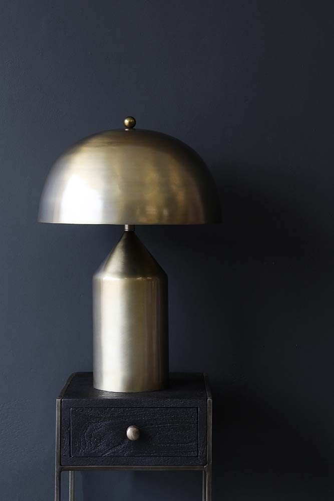 Gold dome table lamp coleuson albemarle rockett saint george