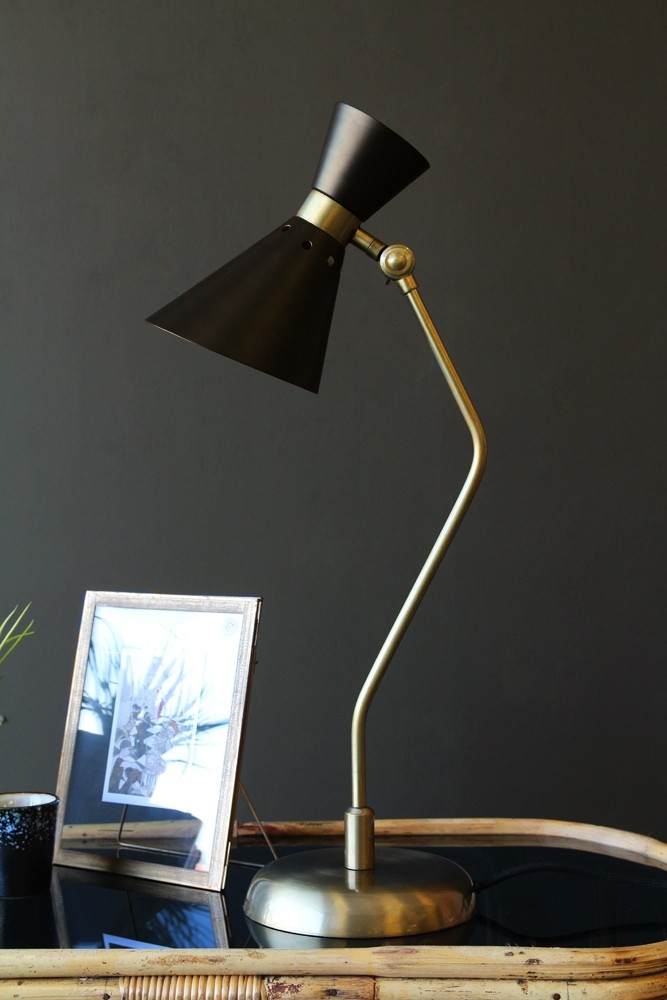 Grace black gold table lamp from rockett st george grace black gold table lamp aloadofball Gallery