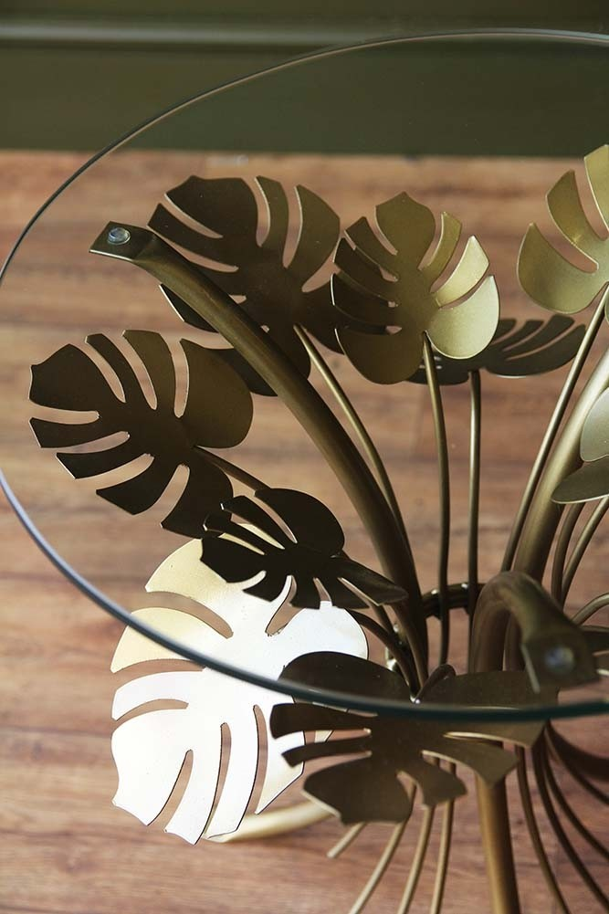 Palm Leaves Coffee Table From Rockett St George
