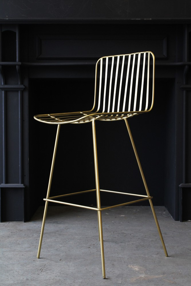 Midas Bar Stool From Rockett St George