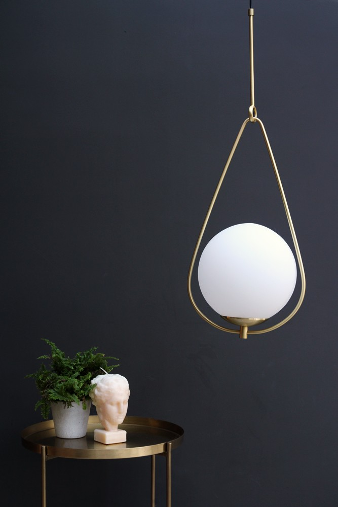 Globe Pearl Drop Ceiling Light View All Lighting