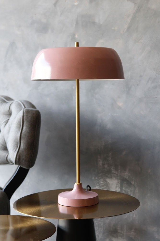Ventura Table Lamp   Dusky Pink. Hover To Zoom