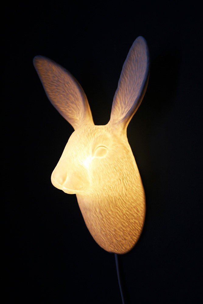 porcelain lighting. porcelain wall light bunny lighting