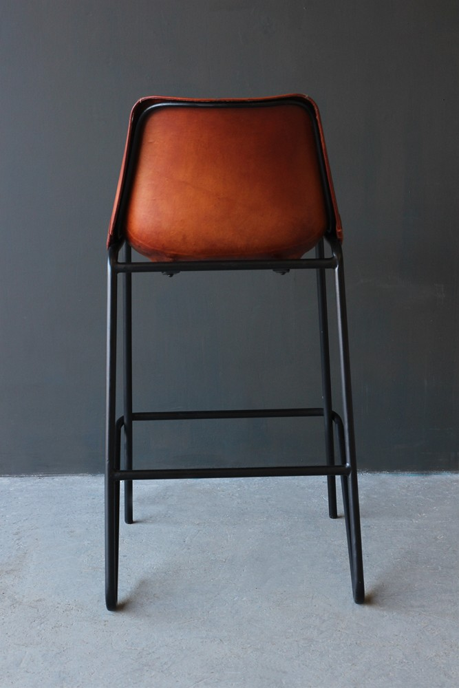 Industrial Leather Bar Stool Brown : tallleatherbarstool3 from www.rockettstgeorge.co.uk size 667 x 1000 jpeg 93kB