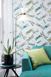 Matthew Williamson Dragonfly Dance Wallpaper - 4 Colours Available