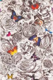 Osborne & Little Butterfly Garden Wallpaper