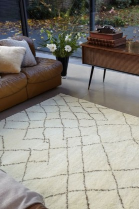 Amira AM004 100% Wool Rug - Various Sizes Available