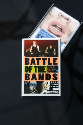 Battle Of The Bands Trump Card Game