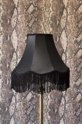 Bell Lamp Shade With Fringing - 3 Sizes Available