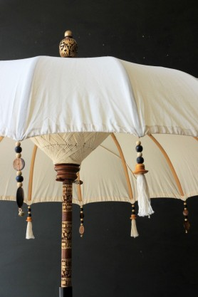 Boho Beaded Cotton Garden Umbrella