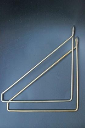 Brass Hangers For Shelf