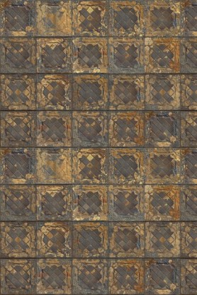 NLXL TIN-08 Brooklyn Tin Tiles Wallpaper By Merci