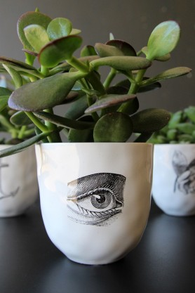 Handmade Ceramic Cup - Eye