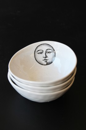 Handmade Ceramic Bowl - Moon