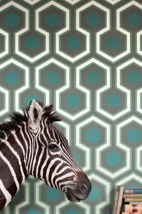 Cole & Son - Contemporary Restyled - Hicks' Grand Wallpaper - 6 Colours Available