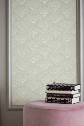 Cole & Son Icons Collection - Feather Fan Wallpaper - 5 Colours Available
