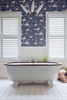 Cole & Son New Contemporary - Flamingos Wallpaper - 4 Colours Available