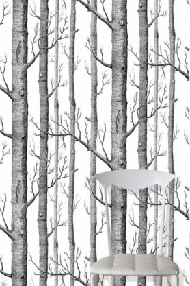 Cole & Son New Contemporary - Woods Wallpaper - 5 Colours Available