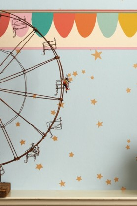 Cole & Son Whimsical Collection - Scaramouche Border - 3 Colours Available