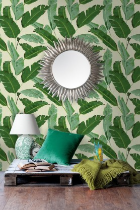 Mind The Gap Wallpaper Collection - Banana Leaves