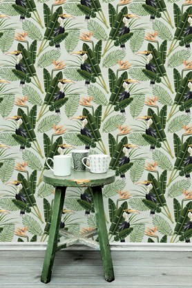 Mind The Gap Wallpaper Collection - Birds Of Paradise