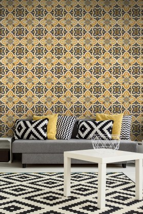 Mind The Gap Wallpaper Collection - Maghreb Tile