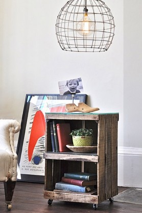 Crate Side Table By Ines Cole