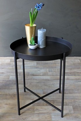 Dream Black Tray Table