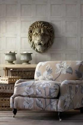 white regent wood panelling wallpaper lifestyle image