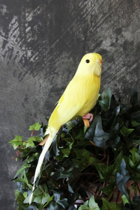 Yellow Budgie - A Fabulous Artificial Bird