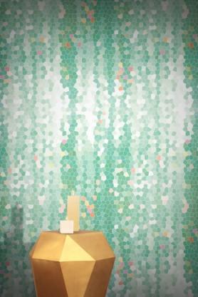 Feathr Wallpaper - Firefly - Mint