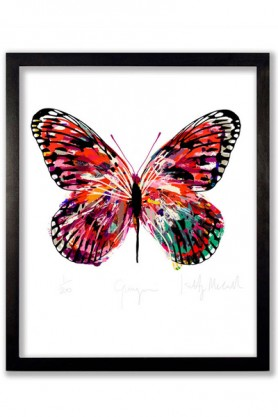 Gauguin Butterfly Print  - Limited Edition