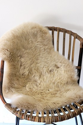 Genuine Sheepskin Rug - Silky Oyster