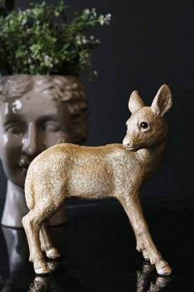Grace The Gold Deer Coin Bank