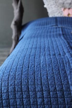 Griselle Indigo Blue Bedspread