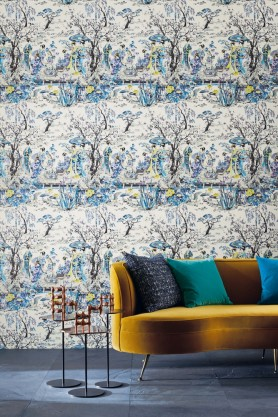 Osborne & Little - Japanese Garden Wallpaper - 3 Colours Available